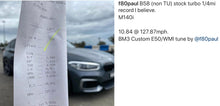 Load image into Gallery viewer, B58 - BMW FXX GXX 140I 240I 340I 440I 540I 640I 740I 840I Z4M40I M140I M340I X3 M40I CUSTOM TUNE