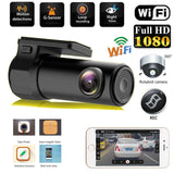 Rotating Car Dash Cam With Night Vision HD