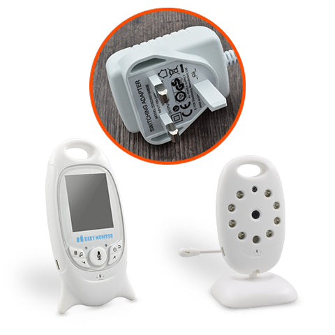 Wireless Video Baby Monitor With 2 Inch Screen and Night Vision