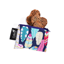 Load image into Gallery viewer, Kids! Reusable Snack Bags QUILL Small