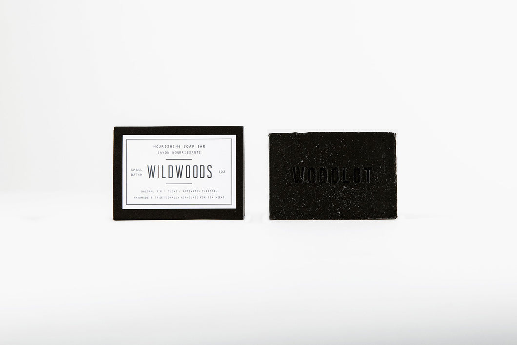 Soap Bar BAMBOO CHARCOAL - Wildwoods