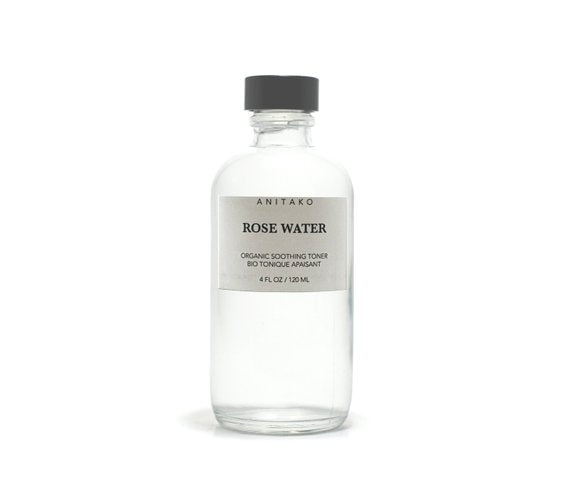 Toner Organic ROSE WATER