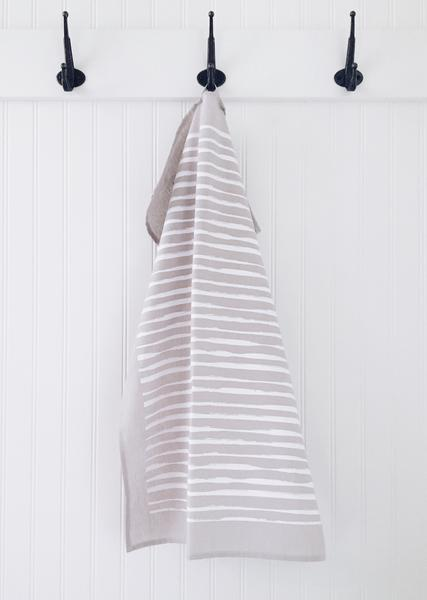 Tea Towel LINES Grey