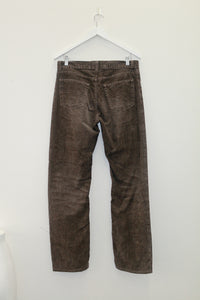 Vintage Helmut Lang Jeans in Brown Cord