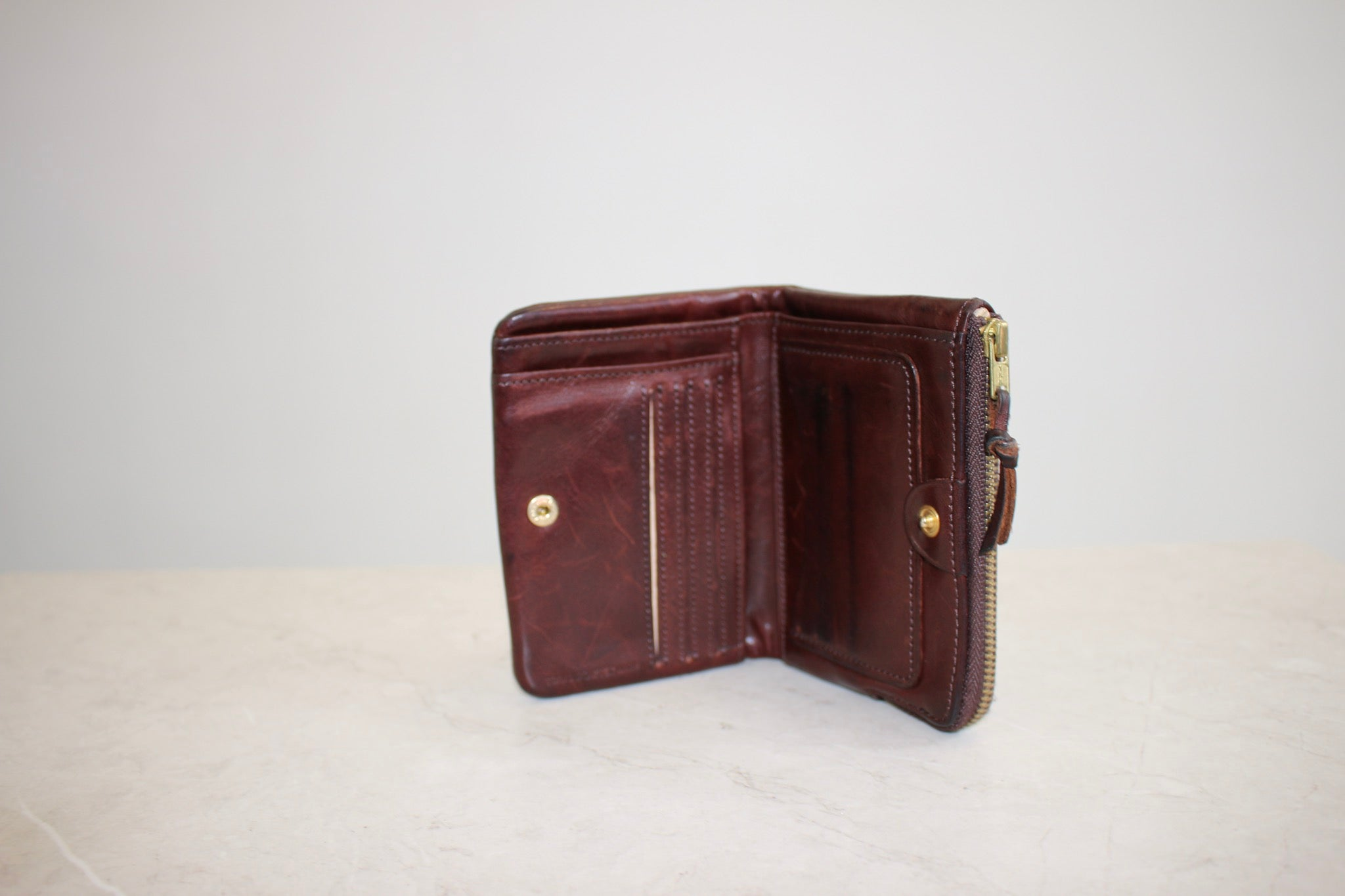 Vintage Porter Leather Wallet