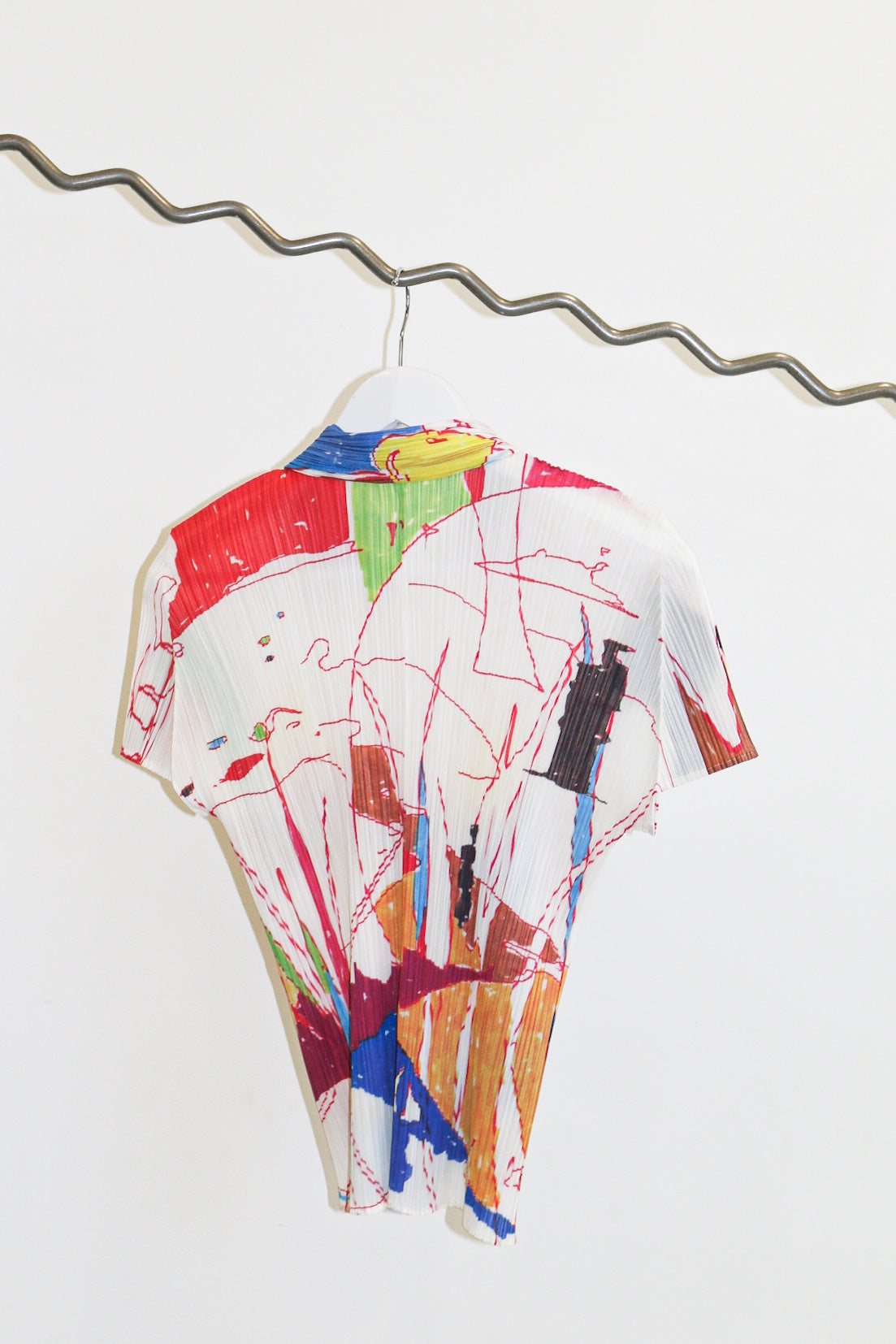 Pleats Please by Issey Miyake Sketches Shirt