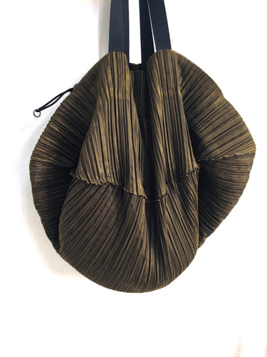 Issey Miyake Pleats Please Pleated Drawstring Bag