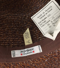Load image into Gallery viewer, YSL Vintage Cloche Hat