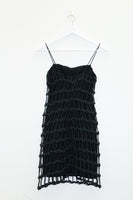 Vintage Ingrid Luhn Rope Dress