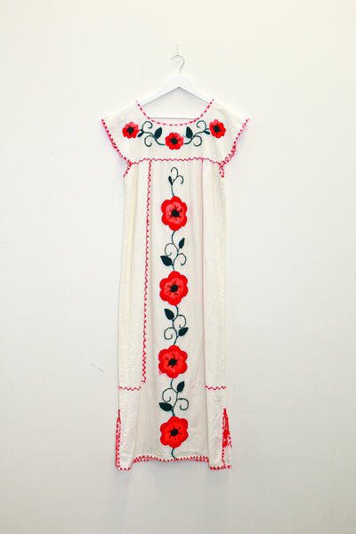 South American Hand Embroidered Tunic