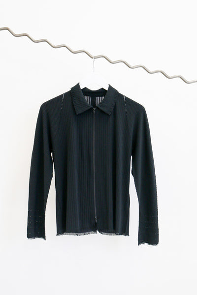 Issey Miyake A.P.O.C. |  Pleats Please Zip Shirt