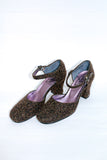 Anna Sui Carpet Felt Pumps