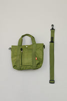 Beams Green Satchel