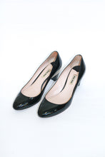 Load image into Gallery viewer, Miu Miu Black Patent Pump