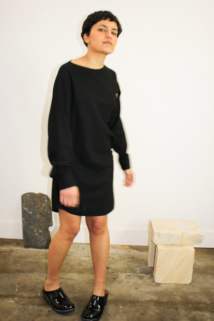 MM6 Maison Margiela Cut Out Dress