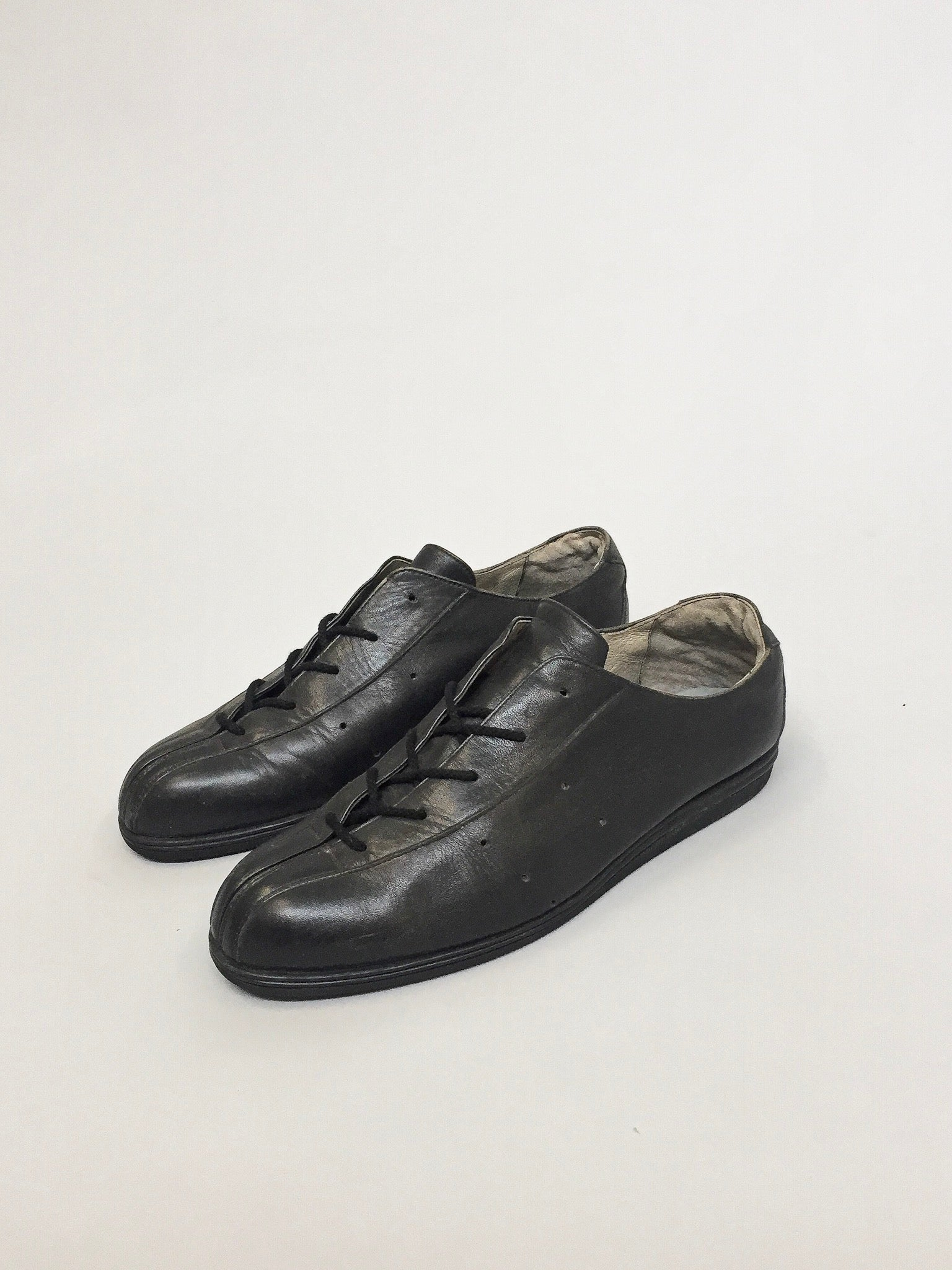 Issey Miyake Leather Shoes with laces