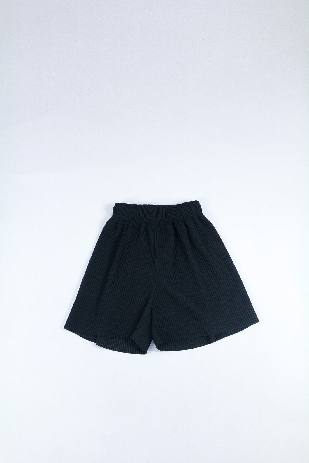 Wide Pleated Shorts