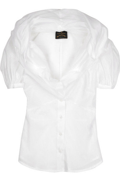Anglomania by Vivienne Westwood Fichu Neckline Blouse