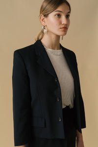 Comme des Garçons Tricot 1991 Single Breasted Blazer and Skirt Suit Set