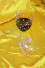 Load image into Gallery viewer, Pair of French Made Wine Glasses