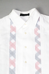 Issey Miyake Concealed Fabric Button Up Summer Shirt