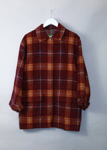 Load image into Gallery viewer, Vintage Kenzo Golf Woollen Tartan Jacket