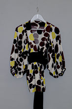 Load image into Gallery viewer, Kenzo Wrap Blouse