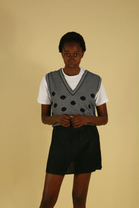 Christian Dior Sports Wool Vest with Logo