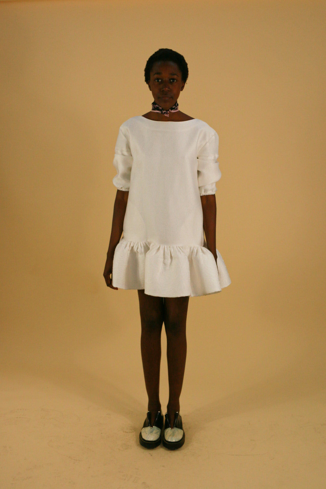 Maticevksi AW14 White Puff mini (with pockets!)