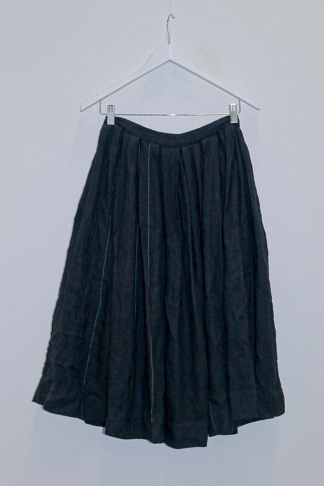 Vintage 1940's Woollen Pleated Skirt