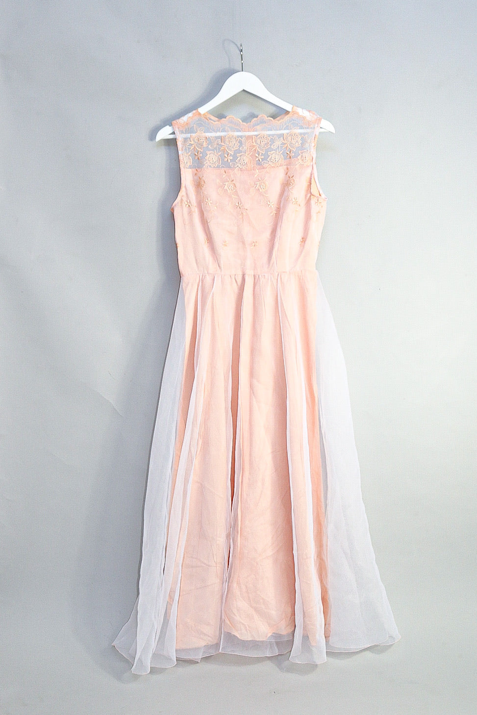 Vintage Empire Dress with Lace Detailing