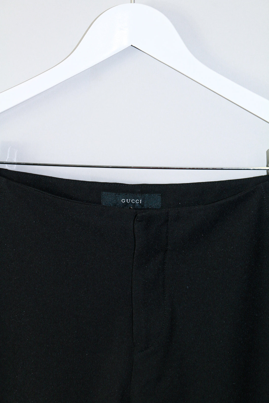 Gucci Straight Legged Trousers with Snap Button detail