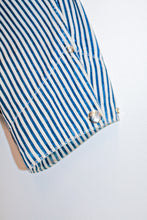 Load image into Gallery viewer, Vintage Ralph Lauren Striped Denim Chore Coat