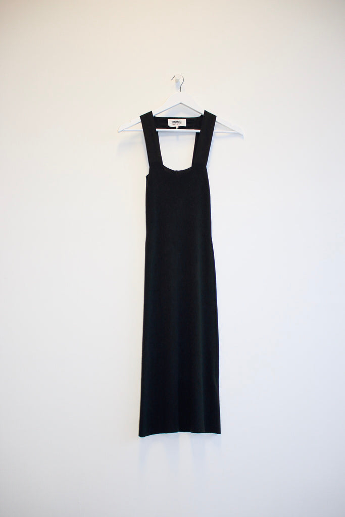 MM6 Maison Margiela Rib Knit Dress
