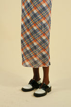 Load image into Gallery viewer, Pleats Please by Issey Miyake Checkered Skirt Full Length