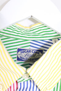 SugarCane Striped Button Up Shirt
