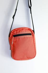 Porter-Yoshida & co Crossbody Bag in emergency orange and 3M
