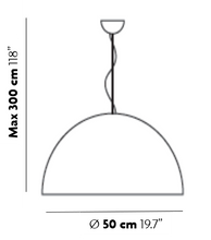 Load image into Gallery viewer, Chiara 100 Pendant