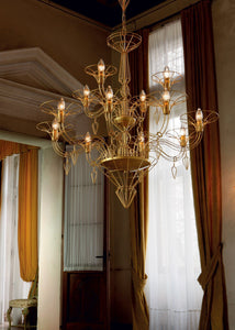 Dedalo 12-Arm Chandelier