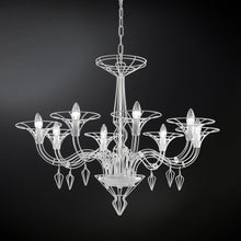 Load image into Gallery viewer, Dedalo 8-Arm Chandelier