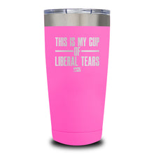 Load image into Gallery viewer, This Is Probably Liberal Tears Laser Etched Tumbler (Premium)