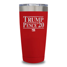 Load image into Gallery viewer, Trump Pence'20 Laser Etched Tumbler (Premium)