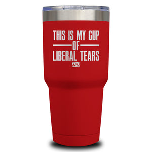 This Is Probably Liberal Tears Laser Etched Tumbler (Premium)