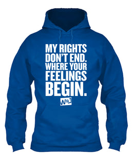 My Rights Don't End Apparel