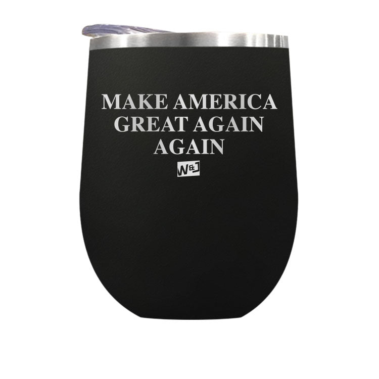 Make America Great Again Stemless Wine Cup
