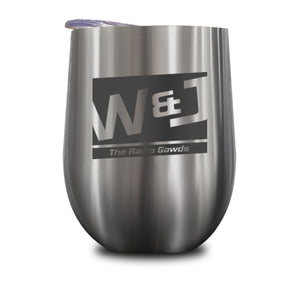 Walton And Johnson Logo Stemless Wine Cup