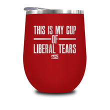 Load image into Gallery viewer, This Is Probably Liberal Tears Stemless Wine Cup