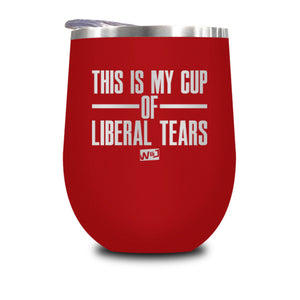 This Is Probably Liberal Tears Stemless Wine Cup