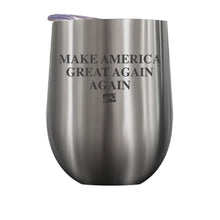 Load image into Gallery viewer, Make America Great Again Stemless Wine Cup