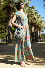 Mango Wrap Maxi Dress